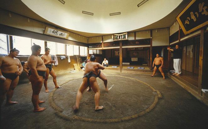 Sumo Stable in Tokyo Japan
