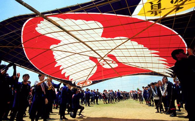 japan bespoke tours at the Kite Festival in Hamamatsu