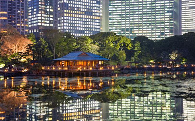 Hamarikyu Garden, Tokyo Japan