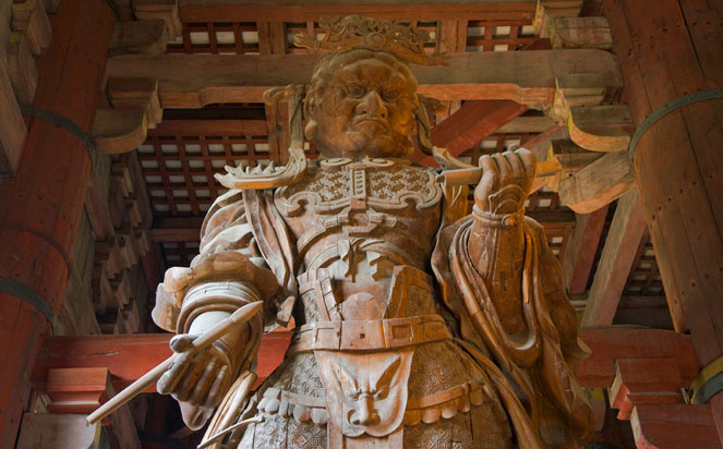 Todaiji Temple tour in Nara Japan
