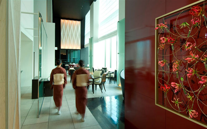 conrad hotel restaurant in tokyo