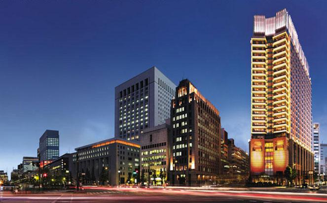 The Peninsula hotel in Tokyo