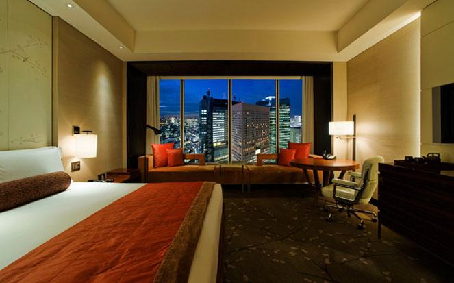 Conrad hotel in Tokyo japan