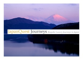 JapanQuest Journeys Japan Travel Brochure Cover