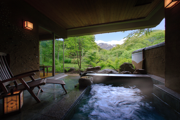 Bettei Senjuan ryokan japan hot spring